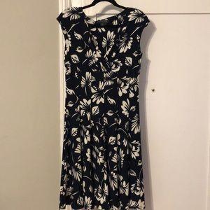 Vintage Ralph Lauren floral dress